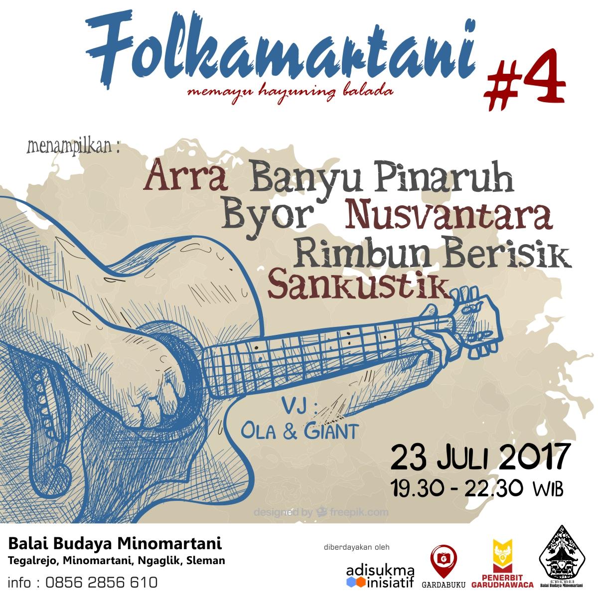 Poster Folkamartani 4b 1 | Musik | FOLKAMARTANI #4