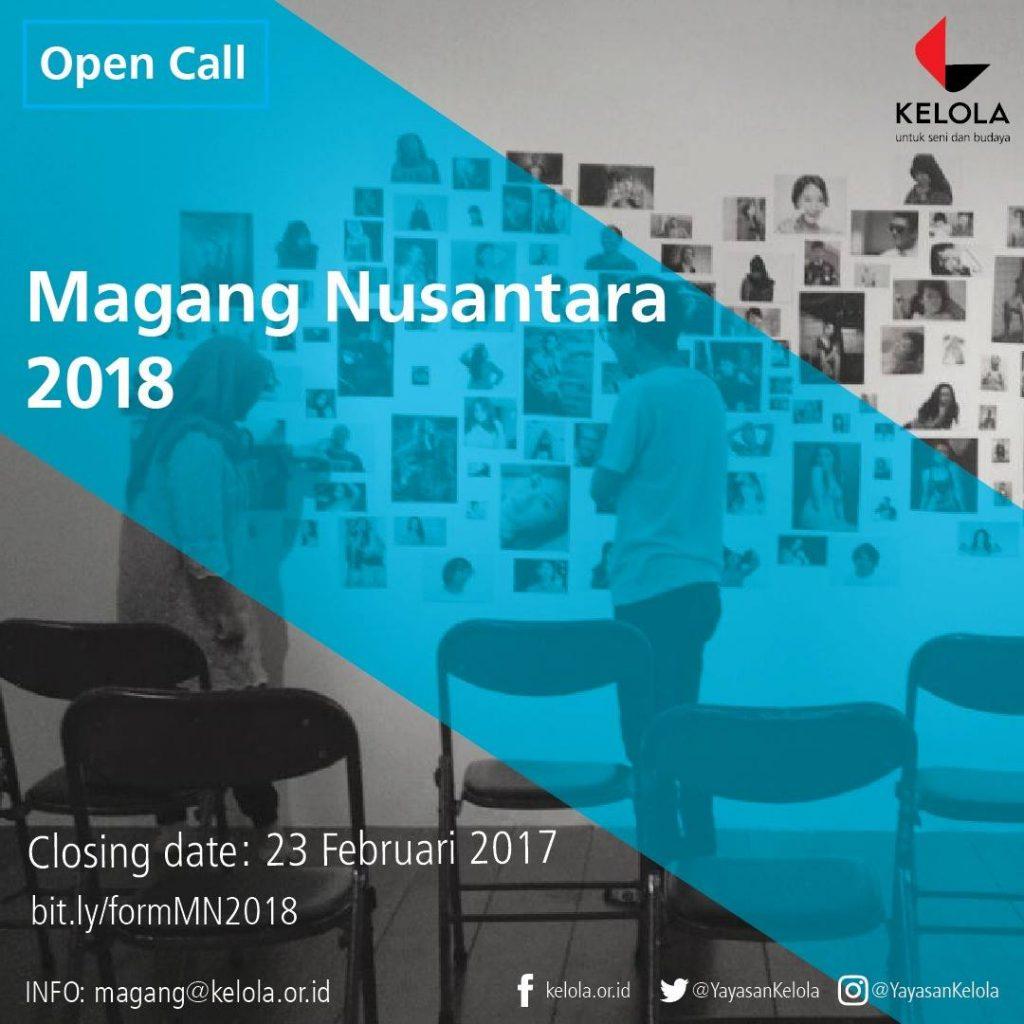 25531965 2076231229105972 5607094732889498457 o | Dibuka : Magang Nusantara Yayasan Kelola 2018