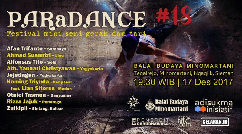 Poster Paradance 18 Adv   Tari   Paradance #18