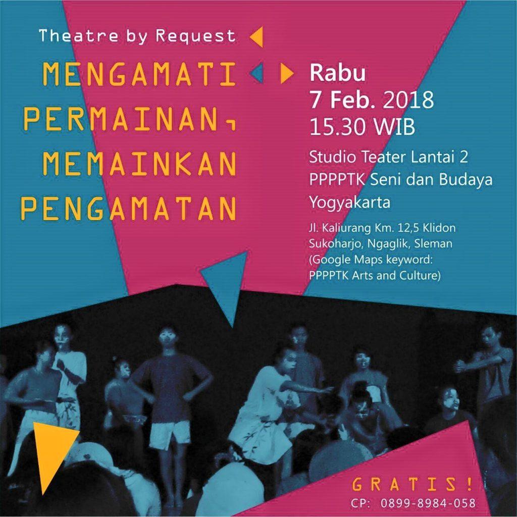 27503245 156260758498809 5070422761065101107 o | Teater | Mengamati Permainan, Memainkan Pengamatan | Theatre by Request