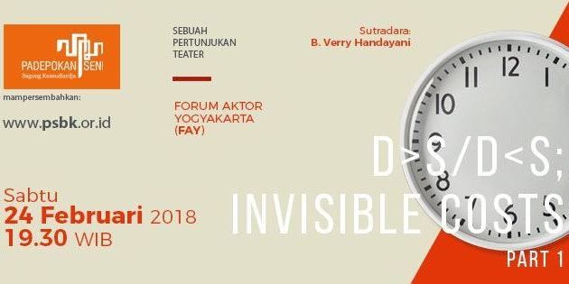 27545176 10159994240045261 1560140079221789274 n | Teater | D>S/D<S Invisible Cost | Forum Aktor Yogyakarta