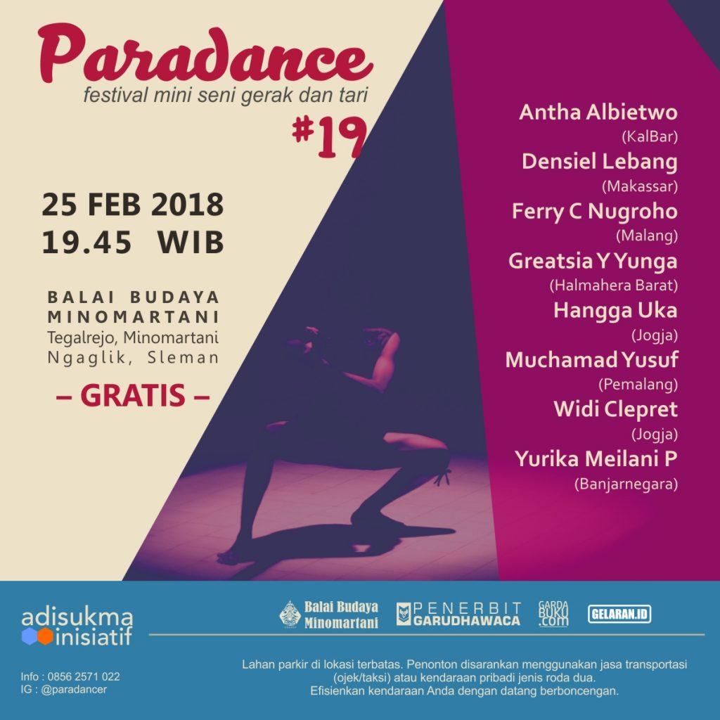 Paradance 19 | Tari | Paradance ke-19