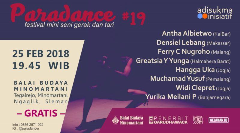 paradance 19 baner | Tari | Paradance ke-19