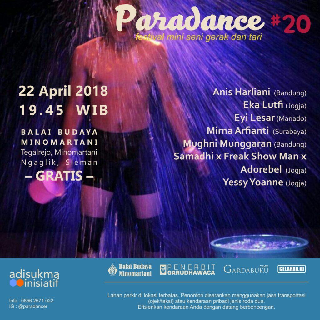 Paradance 20 square | Tari | Paradance ke-20