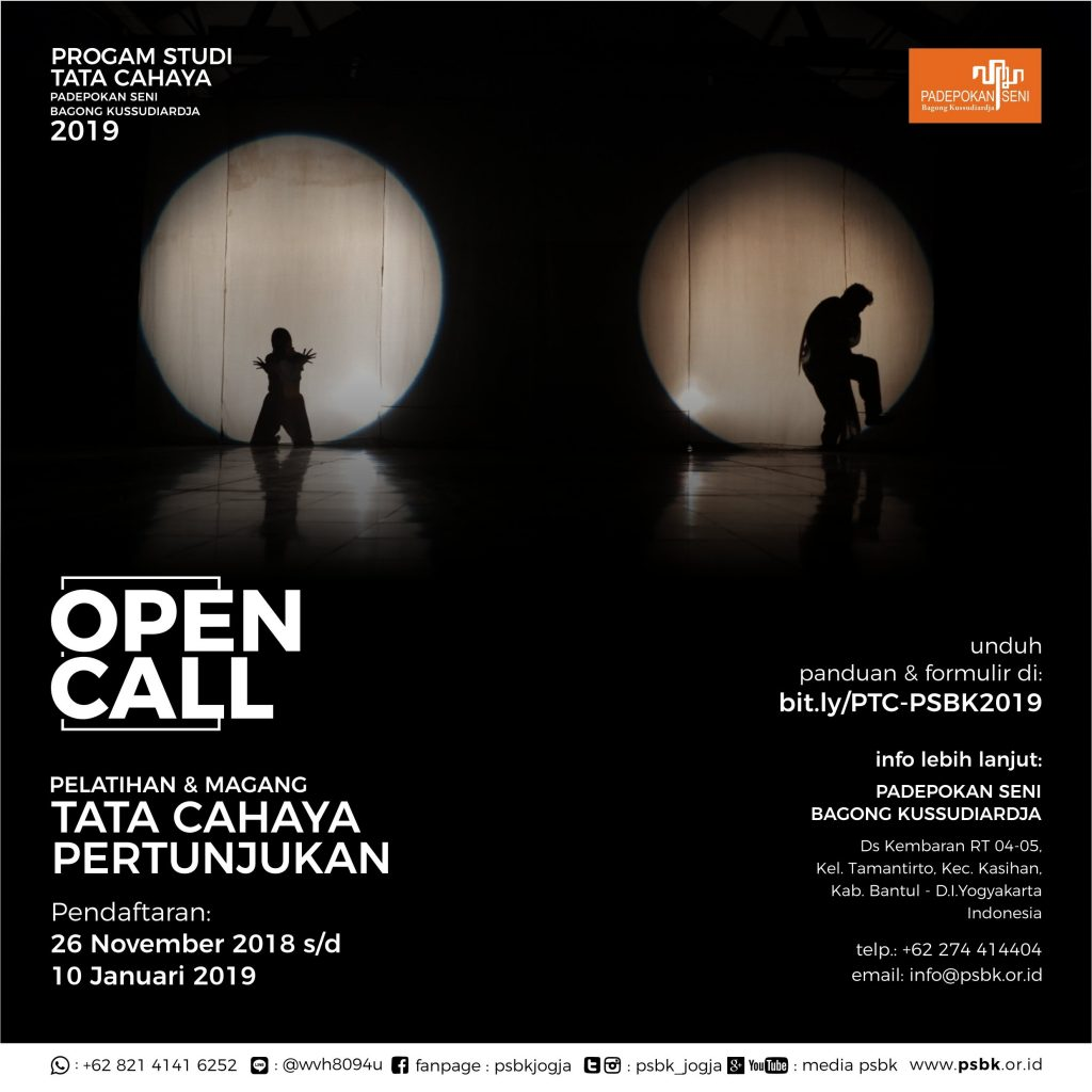 unnamed | Open Call : Magang Tata Cahaya Pertunjukan