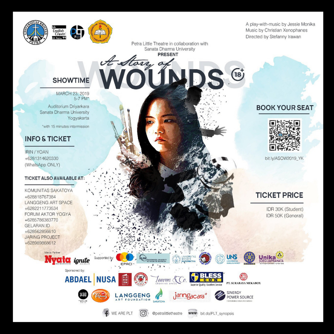 5 | Teater | A Story of Wounds | Petra Little Theatre Surabaya