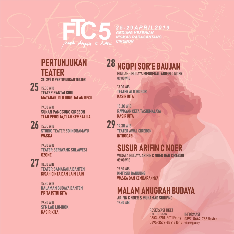 Jadwal Festival Teater Cirebon ke-5