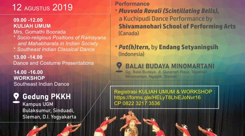 Festival India | Kuliah Umum dan Workshop Tari Klasik India