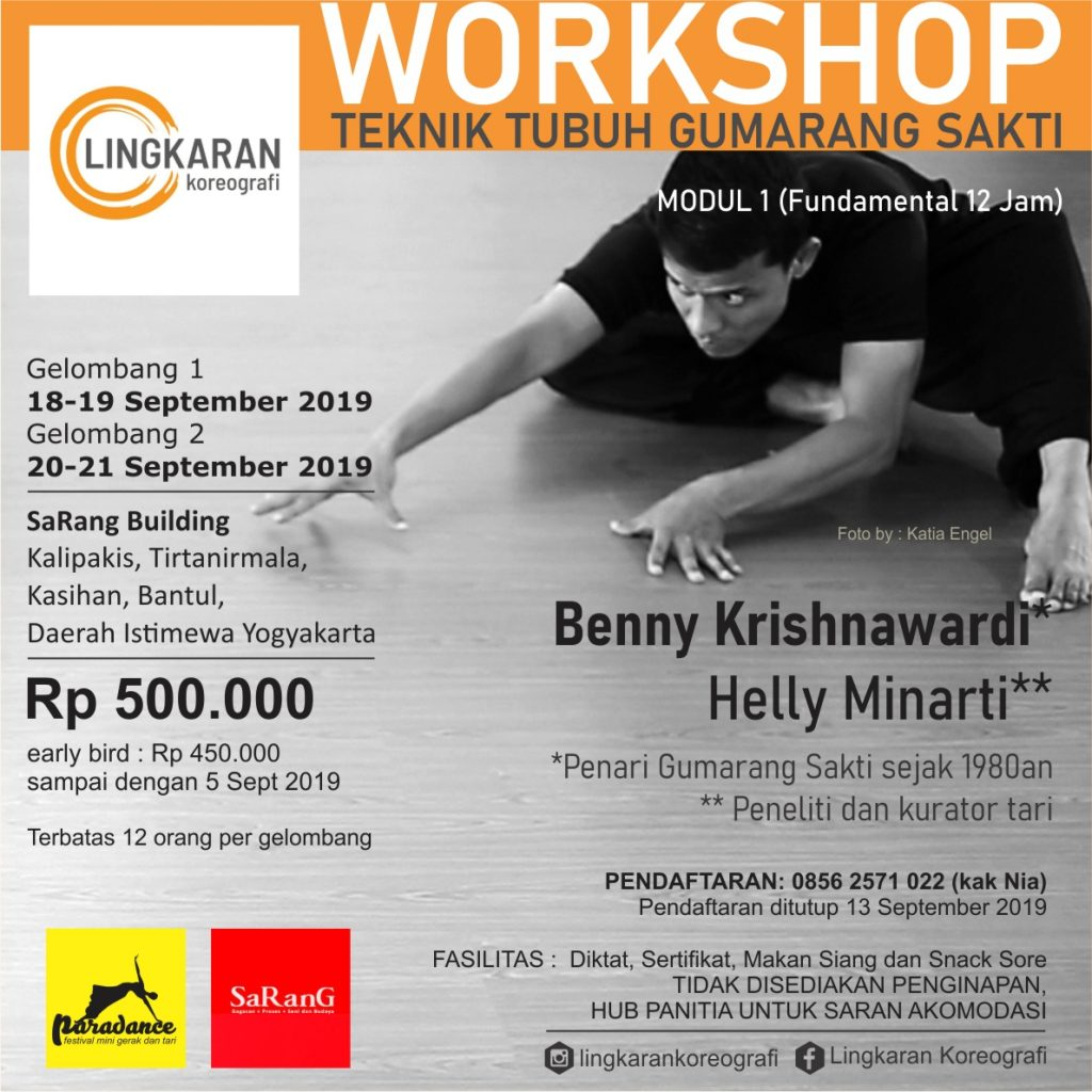 Workshop GUmarang sakti IG | WORKSHOP Tari: Teknik Tubuh Gumarang Sakti
