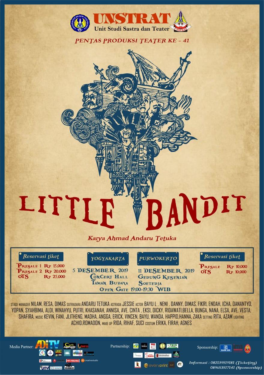 pertunjukan Litle Bandit UNSTRAT UNY