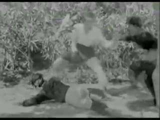 silek minang dalam film Harimau Tjampa