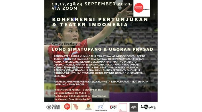 Konferensi Pertunjukan dan Teater Indonesia 2020