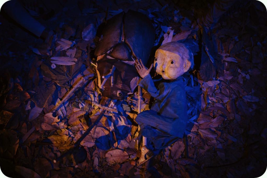 pertunjukan A Bucket of Beetles oleh Papermoon