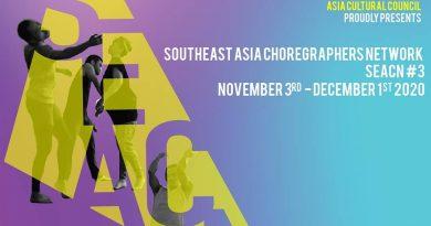 Southeast Asia Choreographers Network (SEACN) #3