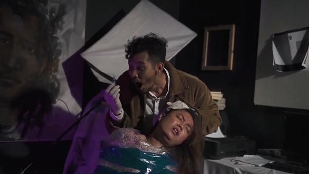 Pementasan Entah oleh Teater Pribumi, Tuban, Jawa Timur